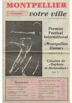 Premier festival international Montpellier Danse