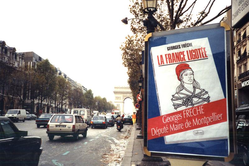 Panneau publicitaire paris